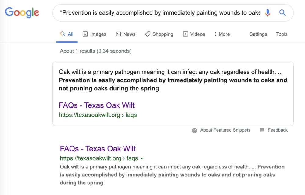 Oak Wilt Treatment Google Search