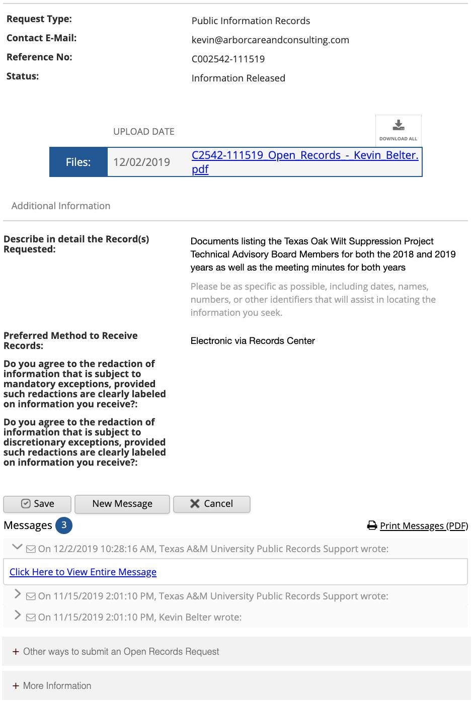 Public Information Act Oak Wilt Image 11
